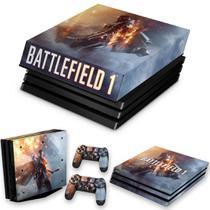 Capa Anti Poeira e Skin para PS4 Pro - Battlefield 1 - Pop Arte Skins