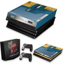 Capa Anti Poeira e Skin para PS4 Pro - Cyberpunk 2077 Bundle - Pop Arte Skins
