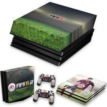 Capa Anti Poeira e Skin para PS4 Pro - Fifa 15 - Pop Arte Skins