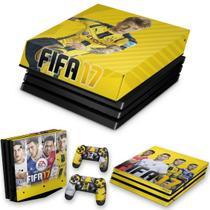 Capa Anti Poeira e Skin para PS4 Pro - Fifa 17 - Pop Arte Skins