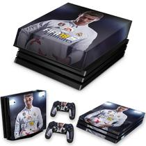 Capa Anti Poeira e Skin para PS4 Pro - Fifa 18 - Pop Arte Skins