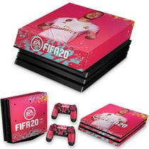 Capa Anti Poeira e Skin para PS4 Pro - Fifa 20 - Pop Arte Skins