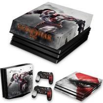 Capa Anti Poeira e Skin para PS4 Pro - God Of War A - Pop Arte Skins