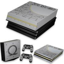 Capa Anti Poeira e Skin para PS4 Pro - God Of War Limited Edition - Pop Arte Skins