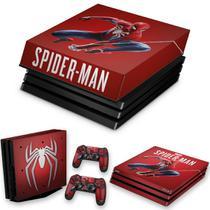 Capa Anti Poeira e Skin para PS4 Pro - Homem Aranha Spider-Man - Pop Arte Skins