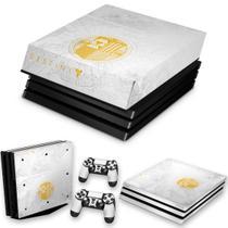 Capa Anti Poeira e Skin para PS4 Pro - Limited Edition Destiny - Pop Arte Skins
