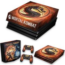 Capa Anti Poeira e Skin para PS4 Pro - Mortal Kombat - Pop Arte Skins