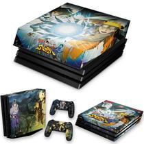 Capa Anti Poeira e Skin para PS4 Pro - Naruto Shippuden: Ultimate Ninja Storm 4 - Pop Arte Skins
