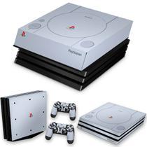 Capa Anti Poeira e Skin para PS4 Pro - Sony Playstation 1 - Pop Arte Skins