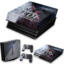 Capa Anti Poeira e Skin para PS4 Pro - Star Wars Jedi Fallen Order - Pop Arte Skins