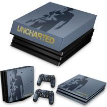 Capa Anti Poeira e Skin para PS4 Pro - Uncharted 4 Limited Edition - Pop Arte Skins
