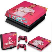 Capa Anti Poeira e Skin para PS4 Slim - Fifa 20 - Pop Arte Skins
