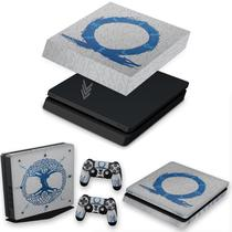 Capa Anti Poeira e Skin para PS4 Slim - God of War Ragnarok - Pop Arte Skins