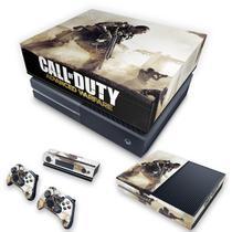 Capa Anti Poeira e Skin para Xbox One Fat - Call Of Duty Advanced Warfare - Pop Arte Skins