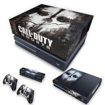 Capa Anti Poeira e Skin para Xbox One Fat - Call Of Duty Ghosts - Pop Arte Skins