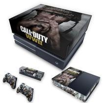 Capa Anti Poeira e Skin para Xbox One Fat - Call Of Duty Ww2 - Pop Arte Skins
