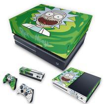 Capa Anti Poeira e Skin para Xbox One Fat - Rick Rick And Morty - Pop Arte Skins