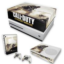 Capa Anti Poeira e Skin para Xbox One S Slim - Call Of Duty Advanced Warfare - Pop Arte Skins