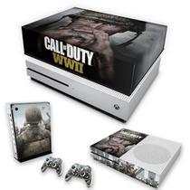 Capa Anti Poeira e Skin para Xbox One S Slim - Call Of Duty Ww2 - Pop Arte Skins