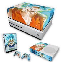 Capa Anti Poeira e Skin para Xbox One S Slim - Dragon Ball Super - Pop Arte Skins