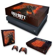Capa Anti Poeira e Skin para Xbox One X - Call Of Duty Black Ops 4 - Pop Arte Skins