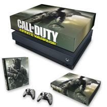 Capa Anti Poeira e Skin para Xbox One X - Call Of Duty: Infinite Warfare - Pop Arte Skins