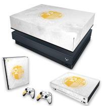 Capa Anti Poeira e Skin para Xbox One X - Destiny Limited Edition - Pop Arte Skins