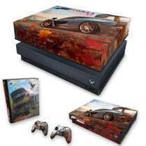 Capa Anti Poeira e Skin para Xbox One X - Forza Horizon 4 - Pop Arte Skins