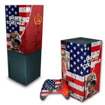Capa Anti Poeira e Skin Xbox Series X - Call Of Duty Cold War - Pop Arte Skins
