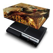 Capa Anti Poeira para PS3 Fat - God Of War 3 2 - Pop Arte Skins