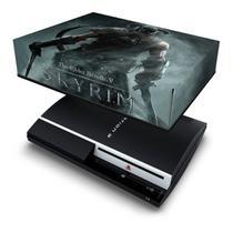Capa Anti Poeira para PS3 Fat - Skyrim - Pop Arte Skins