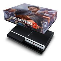 Capa Anti Poeira para PS3 Fat - Uncharted 2 - Pop Arte Skins