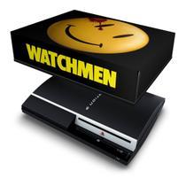 Capa Anti Poeira para PS3 Fat - Watchmen - Pop Arte Skins