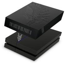 Capa Anti Poeira para PS4 Fat - The Last Of Us Part 2 II Bundle - Pop Arte Skins