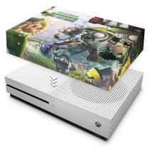 Capa Anti Poeira para Xbox One S Slim - Plants Vs Zombies Garden Warfare - Pop Arte Skins