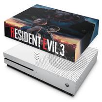 Capa Anti Poeira para Xbox One S Slim - Resident Evil 3 Remake - Pop Arte Skins