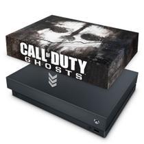 Capa Anti Poeira para Xbox One X - Call Of Duty Ghosts - Pop Arte Skins