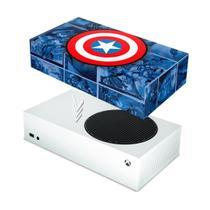 Capa Anti Poeira para Xbox Series S - Capitão América Comics - Pop Arte Skins