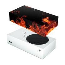 Capa Anti Poeira para Xbox Series S - Fire Flower - Pop Arte Skins