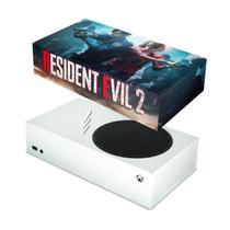Capa Anti Poeira para Xbox Series S - Resident Evil 2 Remake - Pop Arte Skins