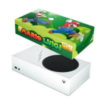 Capa Anti Poeira para Xbox Series S - Super Mario - Pop Arte Skins