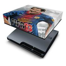 Capa Anti Poeira  PS3 Slim - Fifa 2013 Futebol - Pop Arte Skins