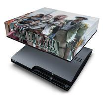 Capa Anti Poeira  PS3 Slim - Final Fantasy Xiii 2 - Pop Arte Skins