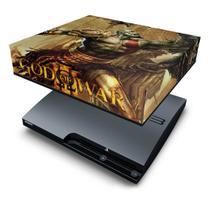 Capa Anti Poeira  PS3 Slim - God Of War 3 1 - Pop Arte Skins