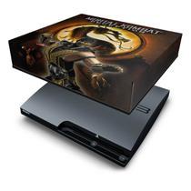 Capa Anti Poeira  PS3 Slim - Mortal Kombat b - Pop Arte Skins