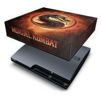 Capa Anti Poeira  PS3 Slim - Mortal Kombat - Pop Arte Skins