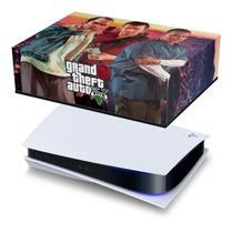 Capa Anti Poeira PS5 - GTA V - Pop Arte Skins