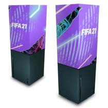 Capa Anti Poeira Xbox Series X - FIFA 21 - Pop Arte Skins