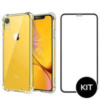 Capa Anti Queda + Película 3D iPhone 7,8 / 7,8 Plus / X,XS / XS MAX / XR / 11 / 11 Pro / 11 Pro Max - Renew