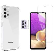 Capa Anti Queda Samsung Galaxy A32 + Pelicula Vidro + Camera - inboxmobile